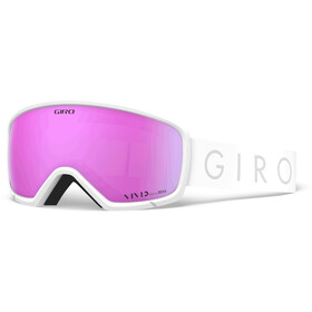 Giro Millie Lunettes De Protection, white core light/vivid pink